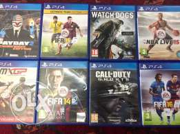 ps4 non used cd's