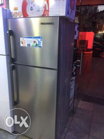 refrigerator 18 feet stainless campomatic NEW