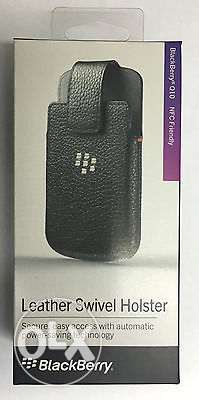 Case leather Holster for Blackberry Classic Q20 NEW +Screen Protection فردان -  2