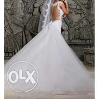 Wedding dress used one time only