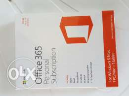 Office 365 Original Office package for 1 pc and mac NEVER OPENED