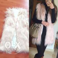 fur vest available for orders