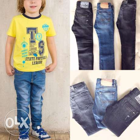 jeans for boys Zara and Karl. All for one price.