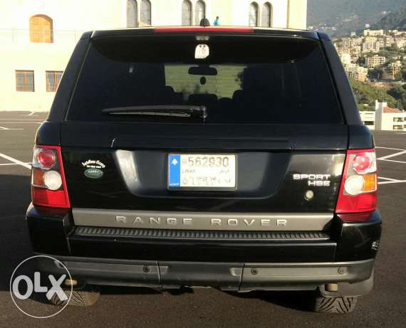 Range Rover 2007 Super charge أدما والدفنه -  8