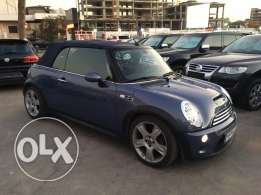 Mini Cooper S 2005 Blue Convertible in Excellent Condition!