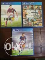 3 cds ps4 for sale