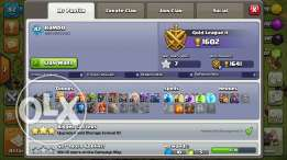 Clash of clan town hall level 9 for sale 20$