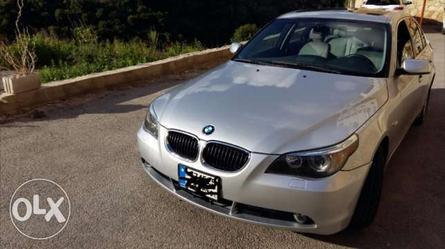 Bmw 525 very clean for trade or sale جبيل -  1