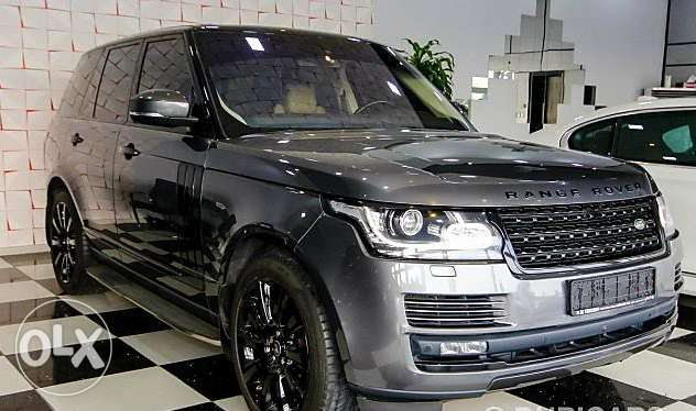 Range Rover Supercharged 2016..Black Edition