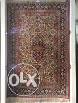 Handmade pure genuine silk Iranian carpet