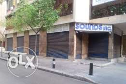 Shop for RENT - Hamra 280 SQM