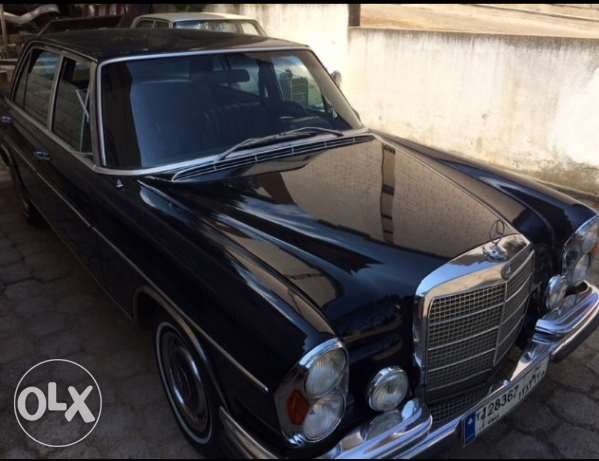 mercedes benz 300 sel 3.5 full original car european classic car