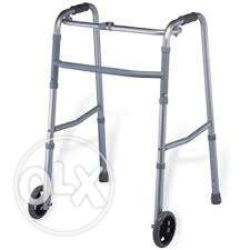 Lightweight High-grade Aluminum folding Walker With Wheels