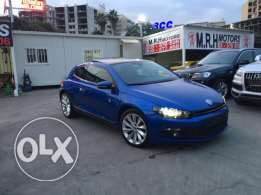 VW Sirocco 2.0 TSI 2011 Blue Top of the Line in Excellent Condition!