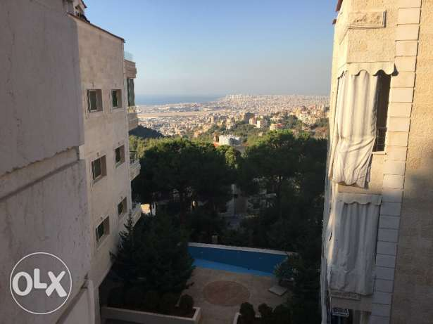 165 sqm Apartment for sale in Deir Kobel (With Mountain and Sea view) بشامون -  3