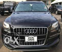 2010 Audi Q7 S-Line 1 Owner clean carfax