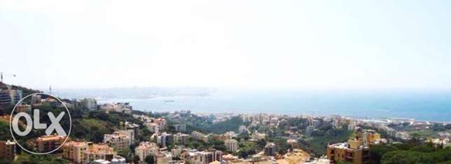 duplex in beit el chaar 224 m2 with unblocked sea view