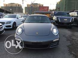Porsche Carrera S 911 grey on black 2009, Ultra clean, Fully loaded !!