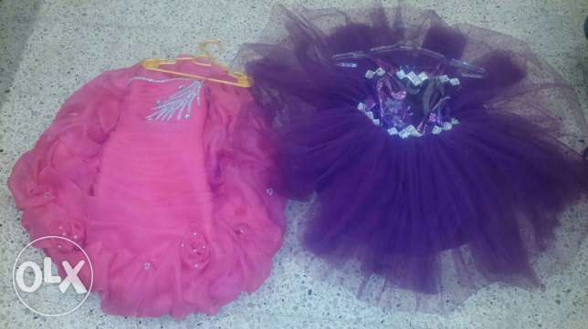 2 amazing dress for cute girl 2 for 40$ only برج البراجنة -  2