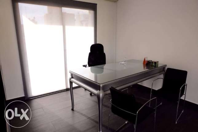 80 SQM Office For Rent, Newly Renovated, Jdeideh-Naher El Mot