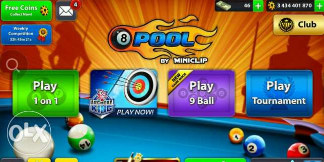 8 ball pool conis sale