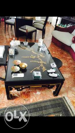Salon Table hand made 7afer