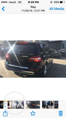 ML350 model 2013 full option very clean كسروان -  3