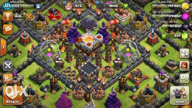 for sale clash of clans مجذوب -  1