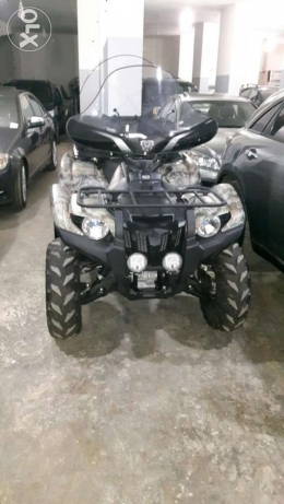 atv yamaha grizzly 700 model 2014
