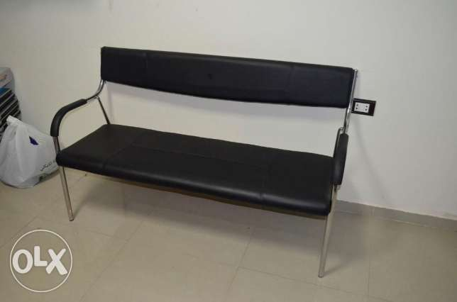 Leather Bench - مقعد جلد