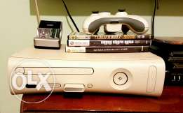 Xbox 360 with 100+ games and movies
