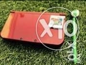 """""""New"""" Nintendo 3ds (red)+4 games"""