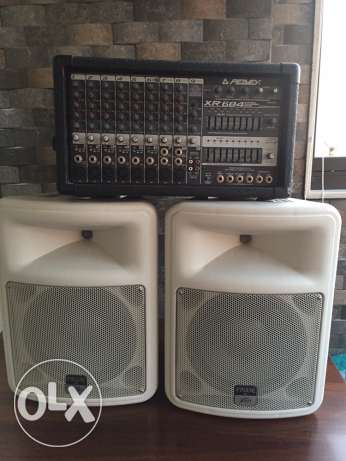 complete PEAVEY sound system