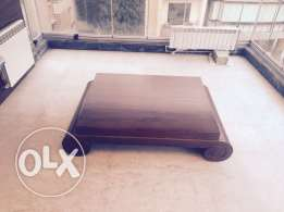 walnut table (Ralph Lauren design ) BRAND NEW