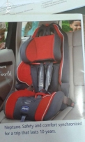 Car chair(chicco)