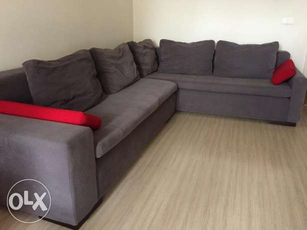 Salon - L shape Sofa