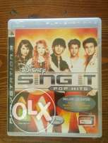 SING IT pop hits for PS3