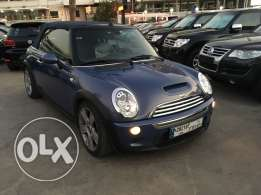 Mini Cooper S 2005 Blue Convertible Fully Loaded in Good Condition!