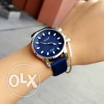 Women's watch Very high quality Dark blue color Price 20.000 L.L