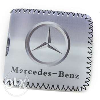 Mercedes-Benz and BMW men's wallets (4 pictures)