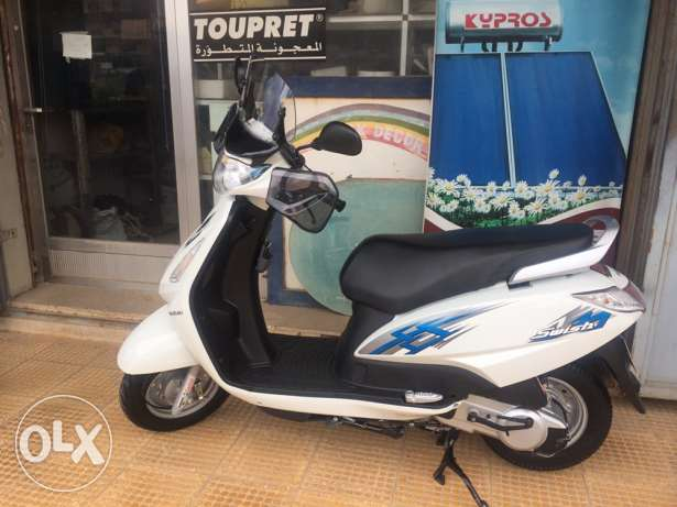 swish 2016 125cc shadow 400
