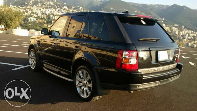Range Rover 2007 Super charge أدما والدفنه -  7
