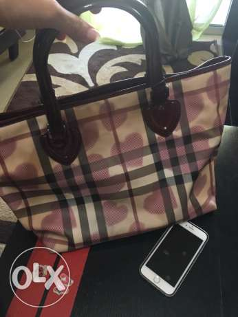Authentic Burberry baby bag