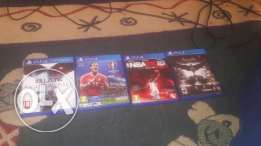 ps3 and ps4 cds for sale in good condition