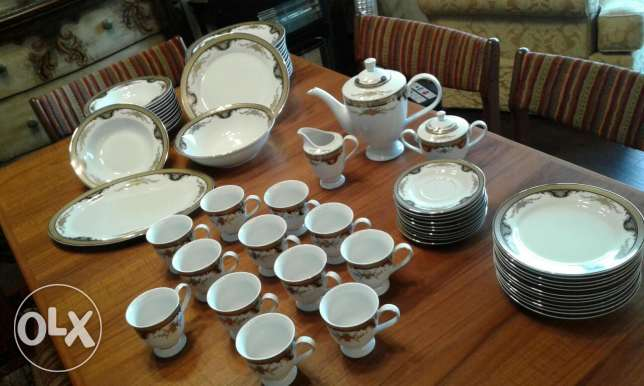 Porcelain dish set of 12...reduced from $150 to $75...brand new