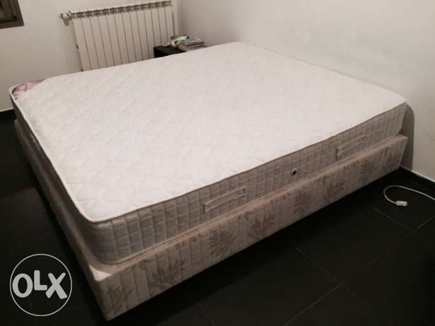 Box bed with Mattresses Foma Superlux Queen (1.70 x 2.00) impeccable! أشرفية -  1