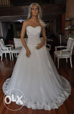 White Wedding Gown - Sample Sale