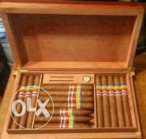 special cooler with 30 cigars cohiba