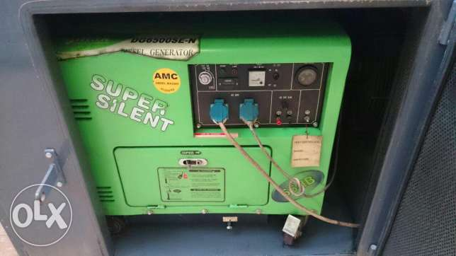 diesel generator and sound proof box , 100% silent