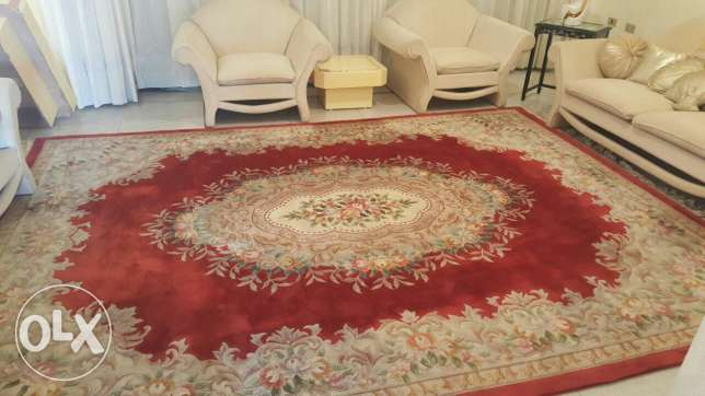 Carpet in good condition for sale.